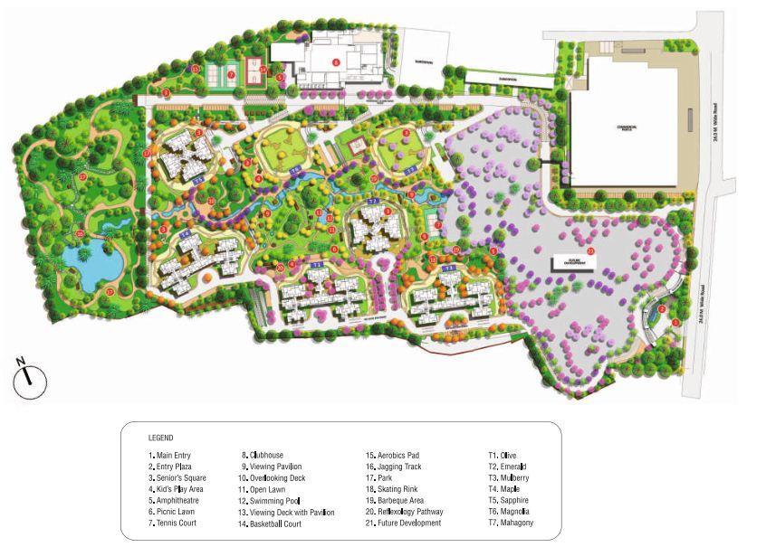 Shapoorji Pallonji Parkwest Master Plan